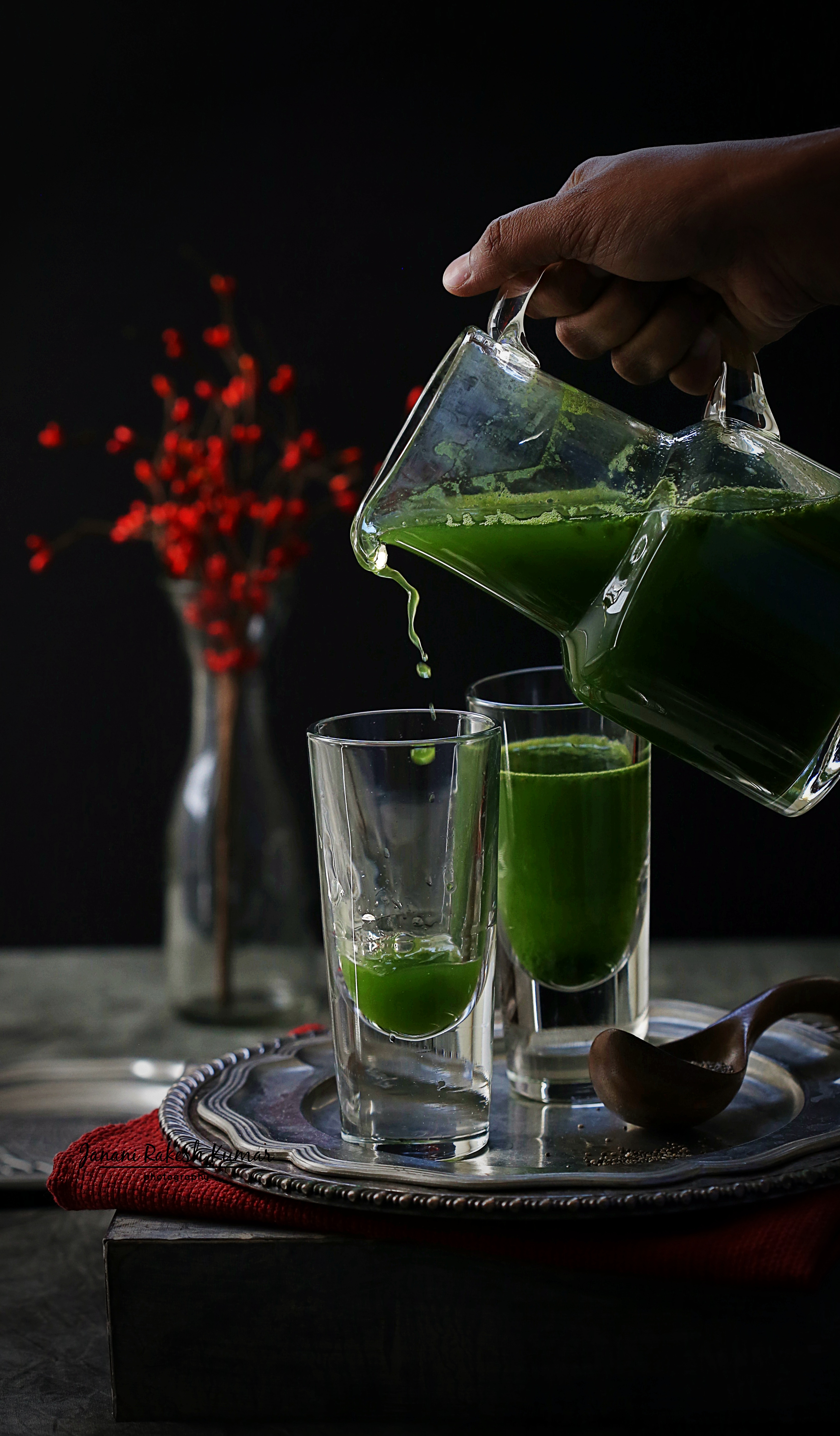 THE MEAN GREEN JUICE WITH CHIA