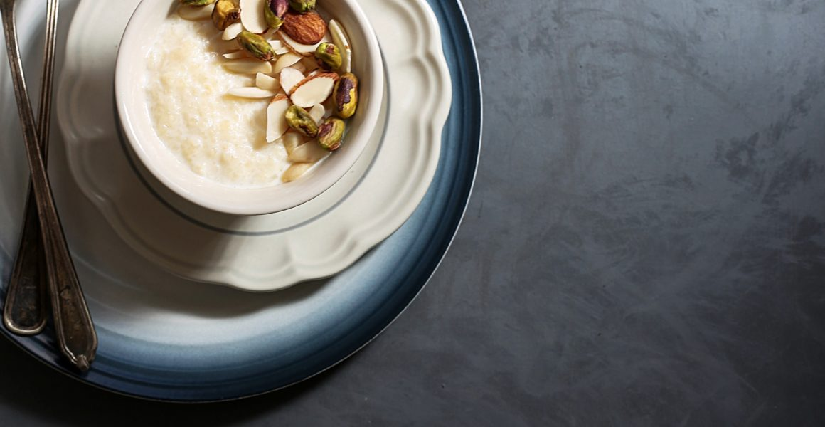 SLOW COOKER RICE PUDDING OR KHEER
