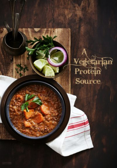 Slow Cooker Coconut Curried Lentils