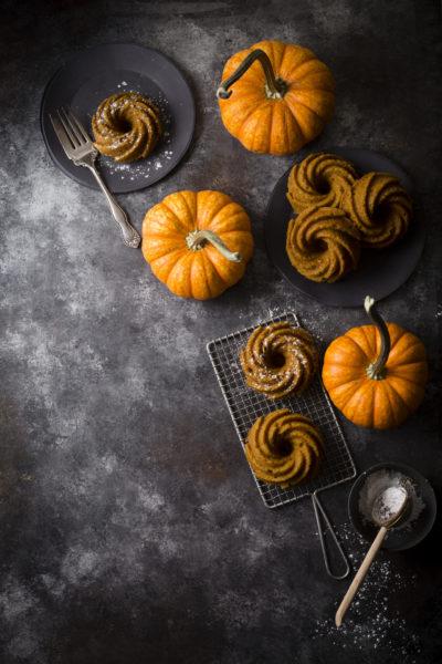 Pumpkin Bundtlets